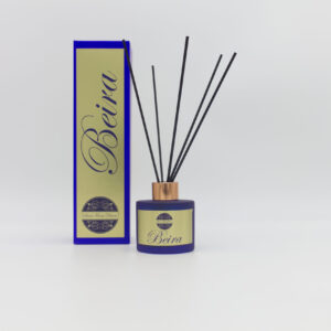 Beira 100ml Blue Coloured Glass Reed Diffuser