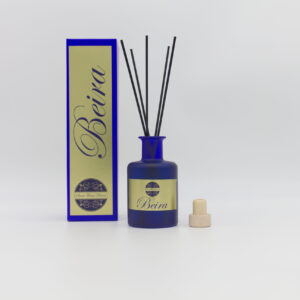 Beira 200ml Blue Coloured Glass Reed Diffuser