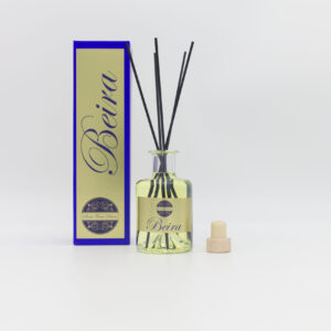 Beira 200ml Clear Glass Reed Diffuser